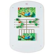 Wandbord Kinderhoek Jungle