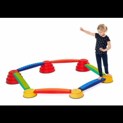 Gonge Build 'n Balance tactile - Parcours sensoriel pour enfants