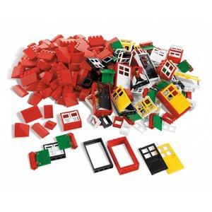 LEGO®  Education LEGO Portes, Fenêtres et Tuiles de Toit