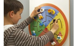 Jeux Muraux  Jeu mural en bois