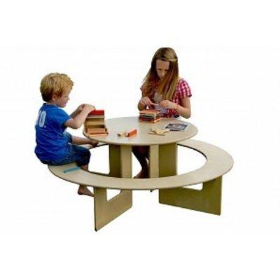Table enfant ronde en bois