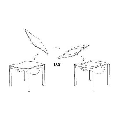 LEGO Tisch (ohne Hocker / Stühle)