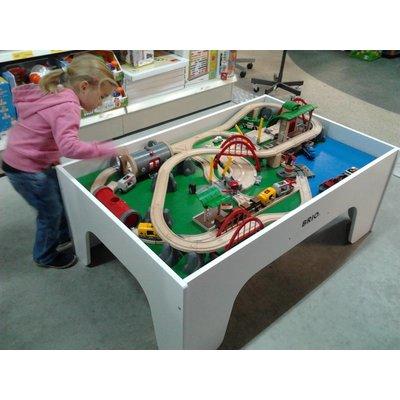 Brio wooden train table