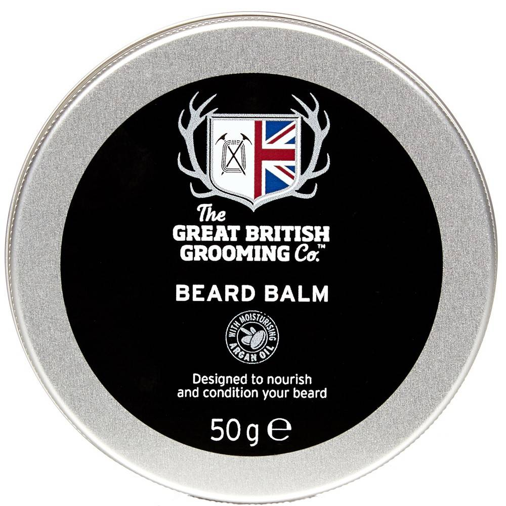 THE GREAT BRITISH GROOMING CO. GREAT BRITISH GROOMING BEARD BALM - 50g