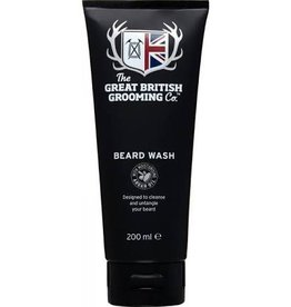 THE GREAT BRITISH GROOMING CO. THE GREAT BRITISH GROOMING BEARD WASH - 200ml