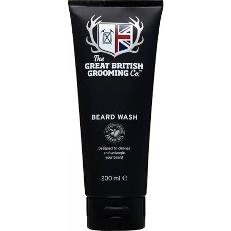 THE GREAT BRITISH GROOMING CO. THE GREAT BRITISH GROOMING BEARD WASH - 200ml