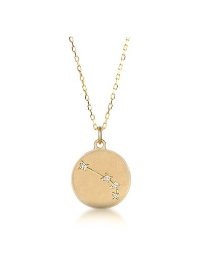 Adamarina Aries  Constellation Necklace