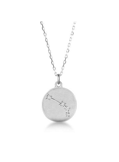 Adamarina Aries  Constellation Necklace