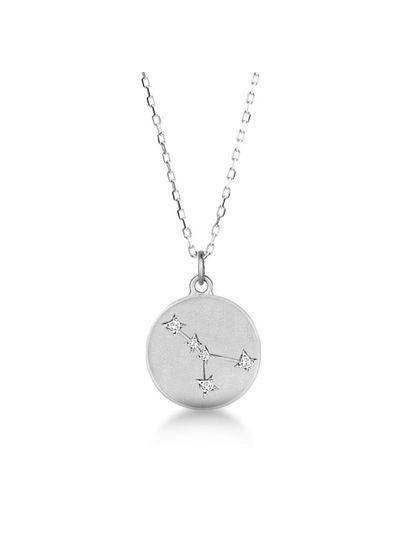Adamarina Cancer Necklace
