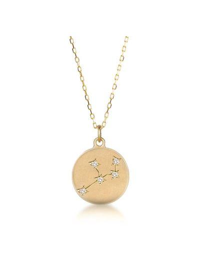 Adamarina Collar Constelación Virgo