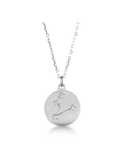 Adamarina Pisces Constellation Necklace