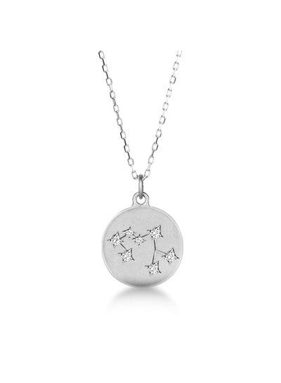 Adamarina Sagittarius Constellation Necklace