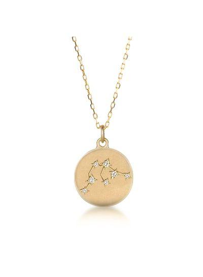 Adamarina  Constellation Necklace Aquarius
