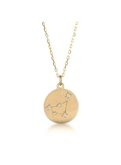 Adamarina Constellation Necklace Capricorn