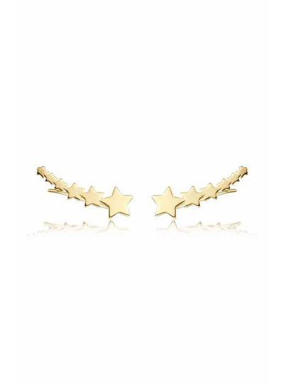 Adamarina Six Stars Oro · Trepador plata bañada
