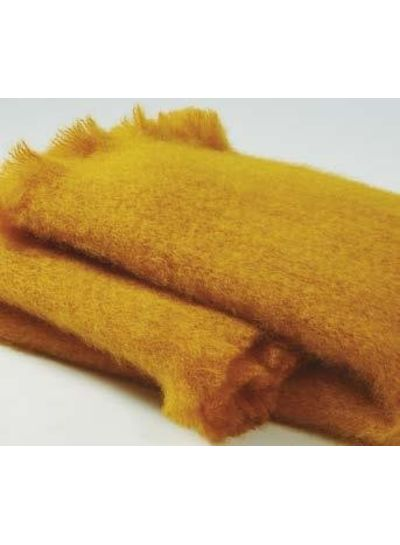 Adamarina Scarf Mohair - Ochre Yellow
