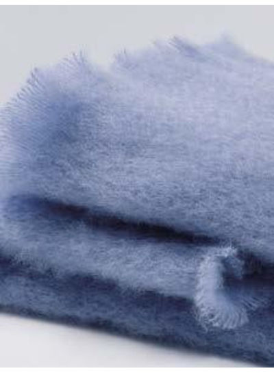 Adamarina Scarf Mohair - Sky Blue