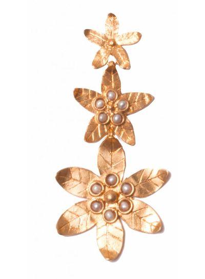 Adamarina Saffron Pearl