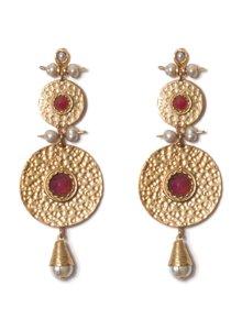 Adamarina Helena XL Earrings Pink