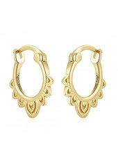 Adamarina Gold Earrings Gypsy