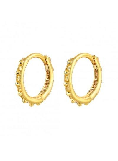 Adamarina Earrings  Gold