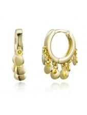 Adamarina Ohrringe Gold