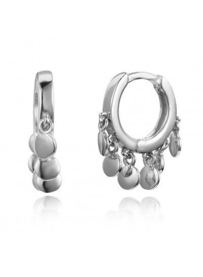 Adamarina Silver Earrings