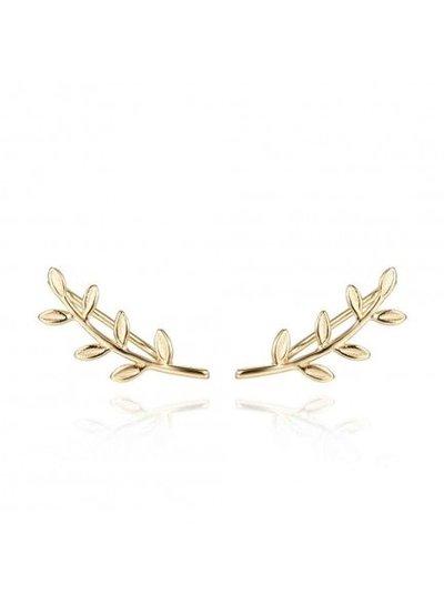 Adamarina Ear Cuff Gold