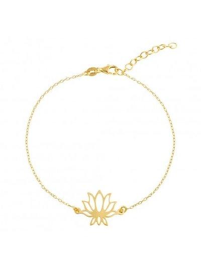 Adamarina Armband Lotus