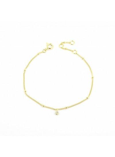 Adamarina Armband Pulsera Gold
