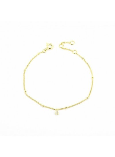 Adamarina Bracelet Pulsera Gold