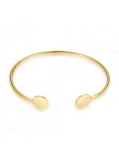 Adamarina Armband Silber-Vergoldet