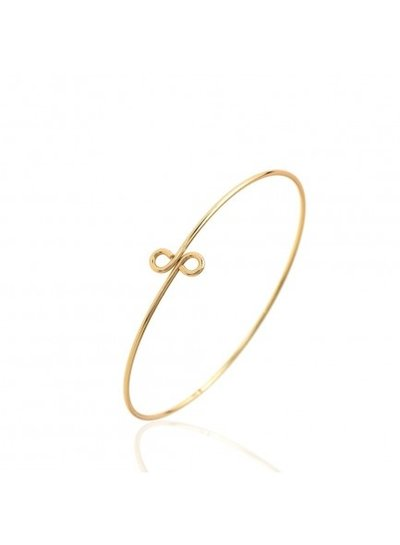 Adamarina Bracelet Silver Gold-Plated
