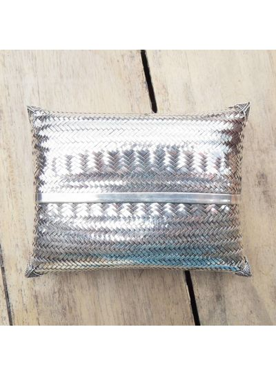Adamarina Sterling Silver Clutch (Only pre-order)