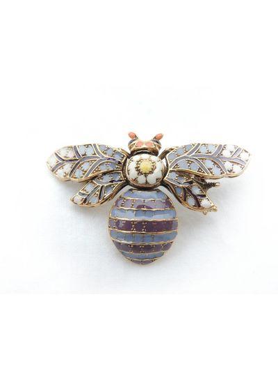Adamarina Brooch Bee Mod. 02