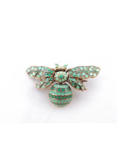 Adamarina Brooch Bee Mod. 04