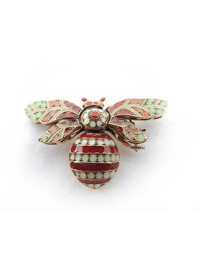 Adamarina Brooch Bee Mod. 06