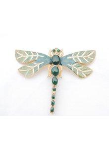 Adamarina Brooch Dragonfly Mod. 06