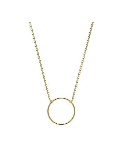 Adamarina Ring Gold Kette