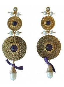 Adamarina Helena XL Earrings