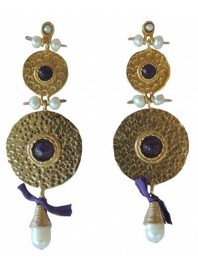 Adamarina Helena XL Earrings