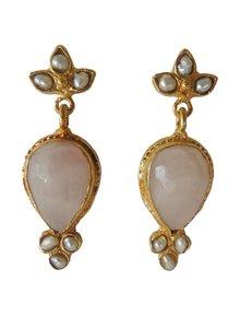 Adamarina Sammy Pink Earrings