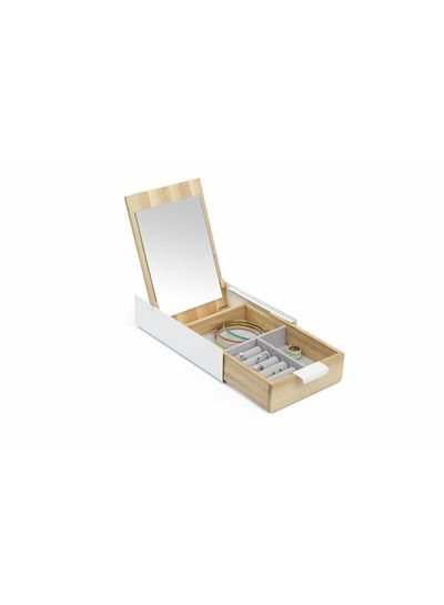 Adamarina Wood Jewellery Box - Copy