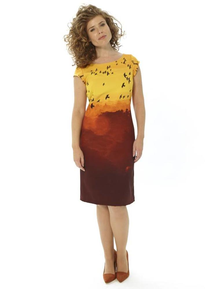 Golden Sunset Dress