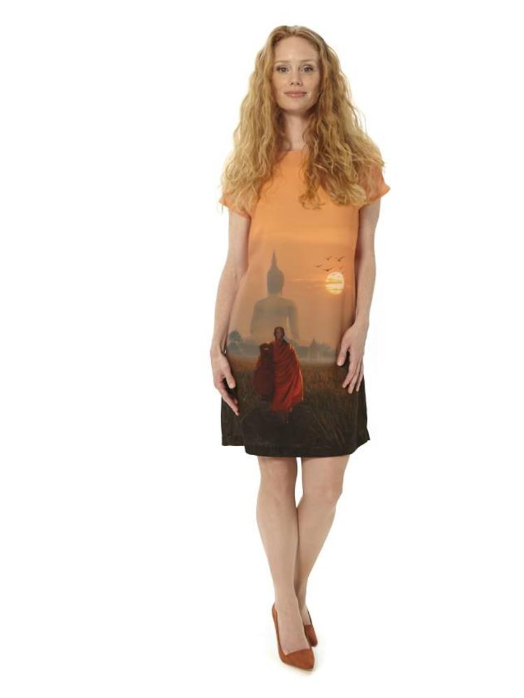 Buddha Sunset Dress