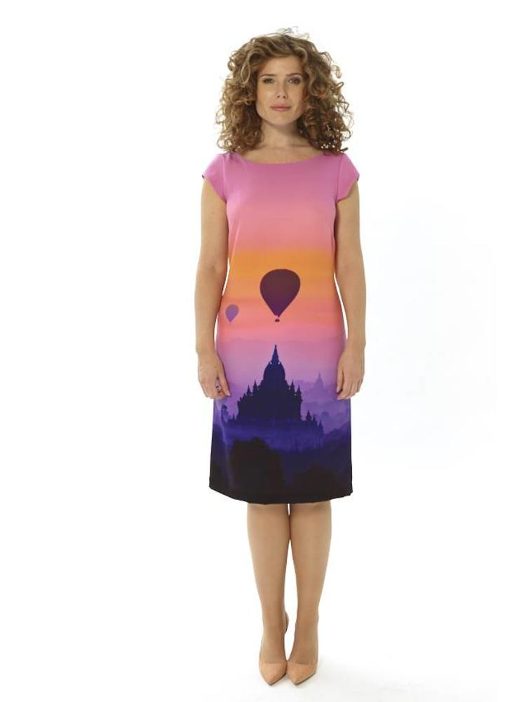 Bagan at Sunset Dress