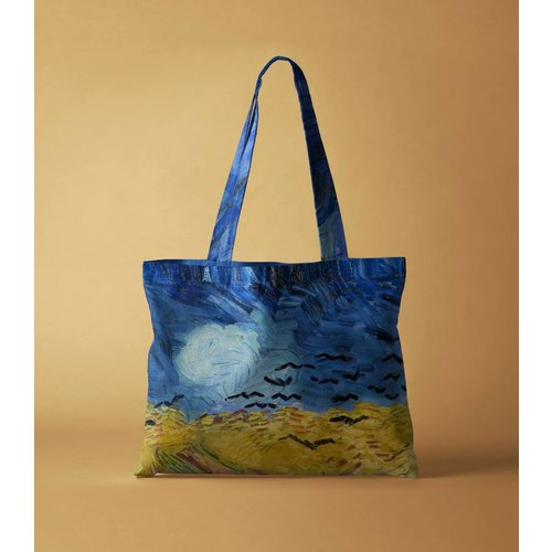 Wheatfield With Crows Bag