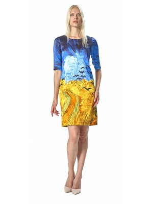 Wheatfield With Crows Dress