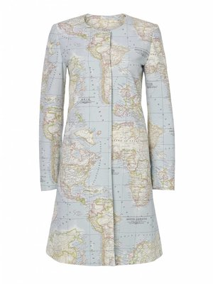 World Map Coat