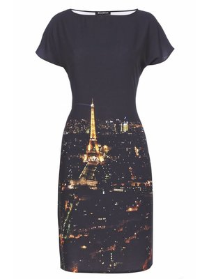 Paris by Night Dress